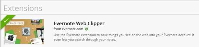 evernote extensions